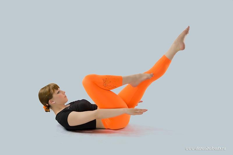 Большая пятерка упражнений пилатеса. Рис. 5